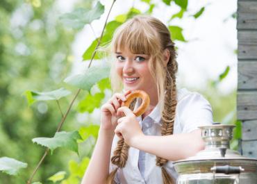 Новоиспеченная участница конкурса «Мисс «Подмосковье сегодня» Ксения Мошкина