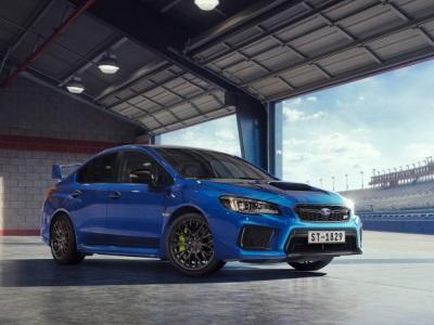 Subaru подготовила WRX STI в особо «злой» версии