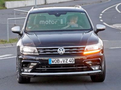 Тестовый Volkswagen Tiguan R может оказаться Audi Q3 RS