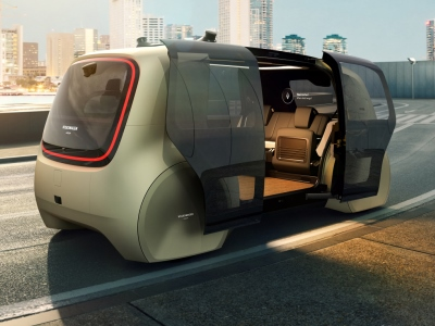 Volkswagen потеснит автобусы беспилотными шаттлами
