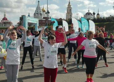 Захарова: воспитанники детдомов приняли участие в забеге «Пульс добра»