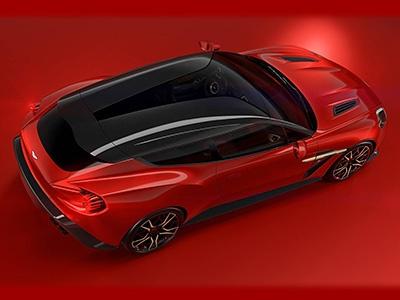Aston Martin представил универсальный суперкар Vanquish S Shooting Brake