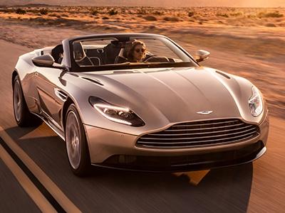 Aston Martin раскрыл кабриолет DB11