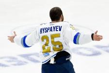 Дамир Рыспаев забыл первую шайбу в ВХЛ после возвращения