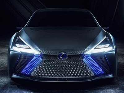 Lexus показал концепт будущего флагмана LS с автопилотом и лазером