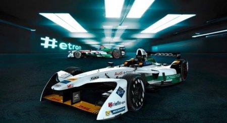 Audi представила собственный болид для гонок Formula E