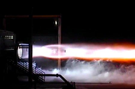 Blue Origin проложила первые огневые тесты двигателя BE-4