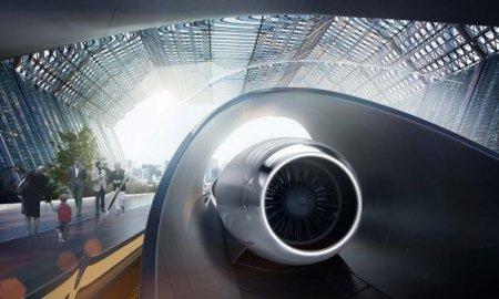 Будто вкалывает Hyperloop?