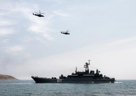 На Камчатке прошло двустороннее бригадное тактическое учение морской пехоты Тихоокеанского флота с боевой стрельбой