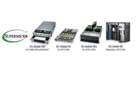 Supermicro представляет широкий ассортимент систем для ГП