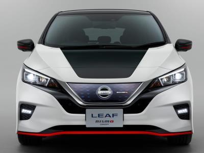 Nissan «зарядит» электрокар Leaf