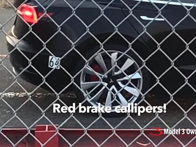 Супербыструю Tesla Model 3 сняли на видео