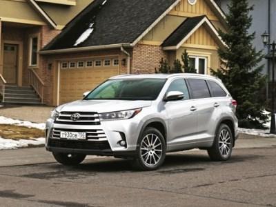 Toyota Highlander стал доступнее