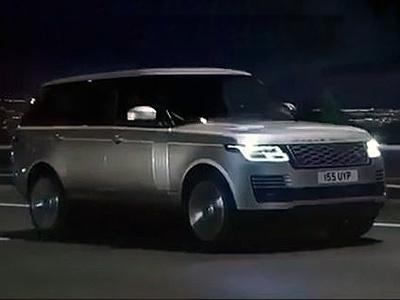 В Сеть слили официальное видео с обновленным Range Rover