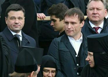 Воробьев присутствовал на богослужении в Троице-Сергиевой Лавре