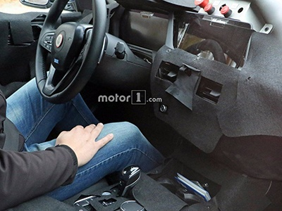 Фотошпионы рассекретили интерьер нового BMW 1 Series