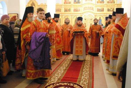 В Павловском Посаде освятили закладной камень на месте будущего храма святителя Николая
