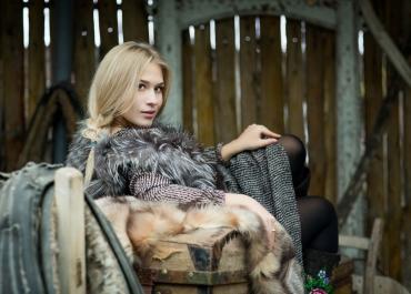 Новоиспеченная участница конкурса «Мисс «Подмосковье сегодня» Алина Александрова