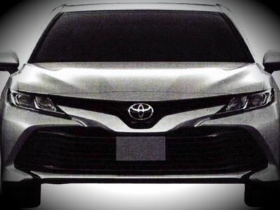 Рассекречена новая Toyota Camry для России