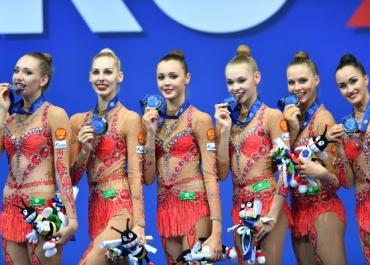 Сборная РФ по художественной гимнастике подключилась к движению Putin Team
