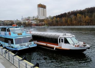 Теплоходы ледового класса поплывут по основной реке Москвы