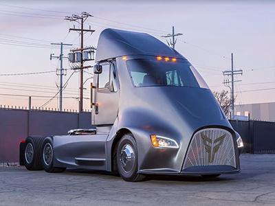 Электро-грузовик из ниоткуда: Thor ET-One
