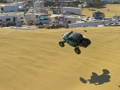 Видео: Калифорнийцы научили багги летать