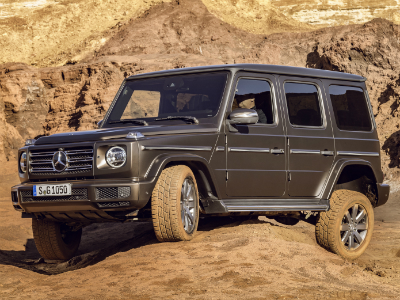 Mercedes-Benz представил абсолютно новый «Гелик»: первые подробности