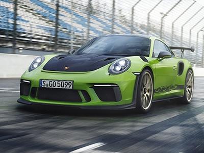 Porsche показал новый 520-сильный 911 GT3 RS