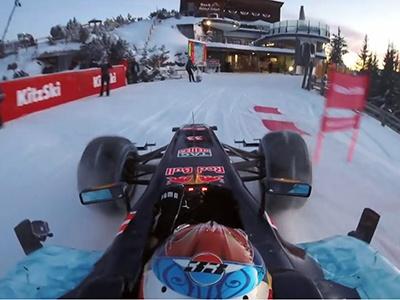 Видео: Какими могли быть зимние олимпийские игры для Формулы-1