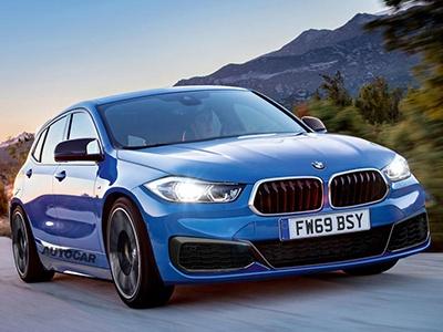 BMW готовит шесть моделей с передним приводом