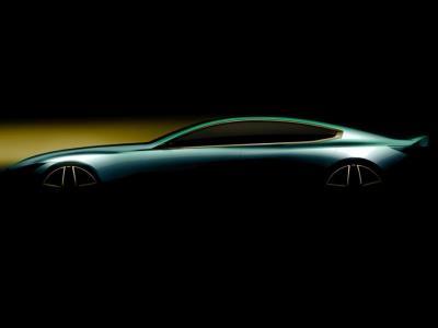 BMW опубликовала тизер четырёхдверной «восьмёрки»
