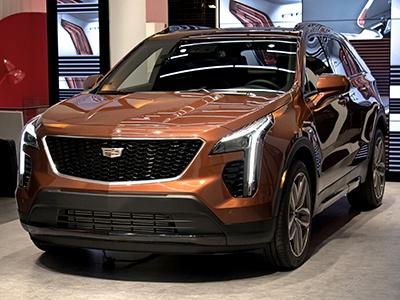 Cadillac представил новый компактный кроссовер XT4