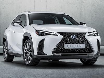 Lexus представил начальный кроссовер UX с парой новых моторов