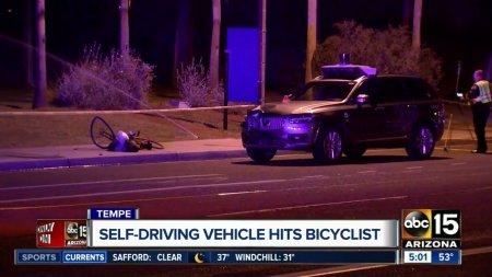 Беспилотный автомобиль Uber насмерть сбил женщину