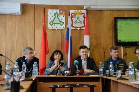 Обсуждение плана работ по дегазации и рекультивации полигона ТБО «Ядрово» прошло в администрации Волоколамского района