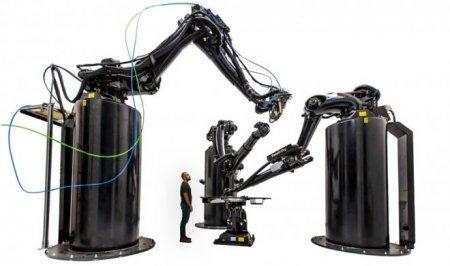Самый большой 3D-принтер в мире Stargate сможет целиком напечатать космическую ракету
