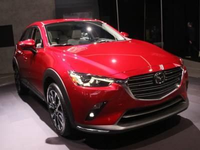 Представлен обновлённый «паркетник» Mazda CX-3
