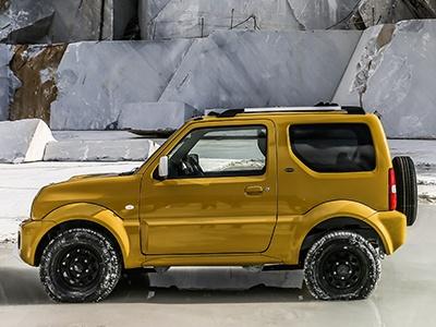Suzuki везет в Россию новый Jimny