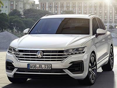 Volkswagen представил совершенно новый Touareg