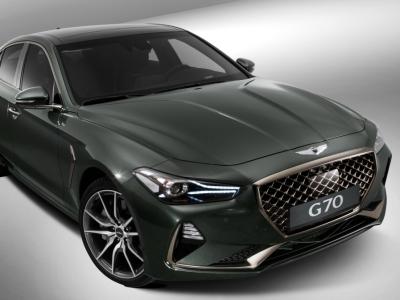 Genesis выкатил седан G70 и озвучил цены