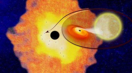 Астрономы нашли нескольких тысяч черных дыр в центре Млечного Пути