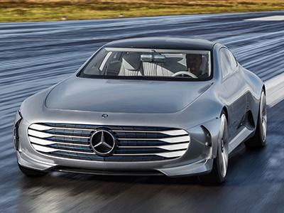 Mercedes-Benz покажет ультра-люксовый электро-седан в 2020 году