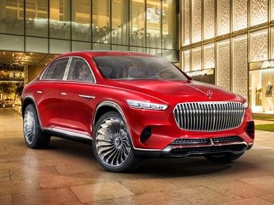 Mercedes подготовил красный «Майбах» для китайцев