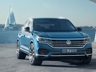 Volkswagen озвучил базовый ценник нового Touareg