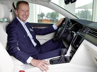 Volkswagen снова сменил гендиректора