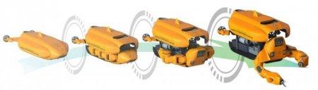 Aquanaut – «гибрид» из двух типов подводных роботов