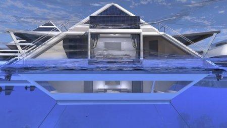 Дизайнер представил концепцию города плавающих пирамид