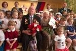 Утренник накануне 9 Мая прошёл в детском саду «Семицветик»