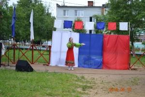 10 июня в с. Узуново мкр. Северный площадка состоялся праздничный концерт посвященный